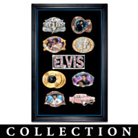 Elvis Presley Fashion Belt Buckle Collection
