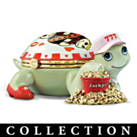 Casino Queens Turtle Music Box Collection