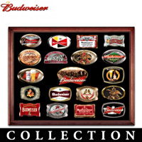 Budweiser Belt Buckle Collection