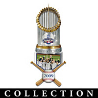 New York Yankees World Series Champions Ornament Collection