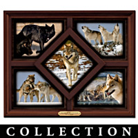 The Wolves Of Yellowstone Wall Decor Collection
