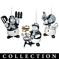 Oakland Raiders Coolest Fans Ornament Collection