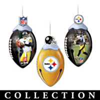 Pittsburgh Steelers FootBells Ornament Collection