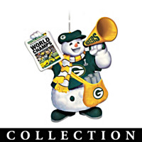 Green Bay Packers Coolest Fans Ornament Collection