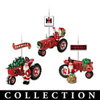 75 Years Of Farmall Red Ornament Collection