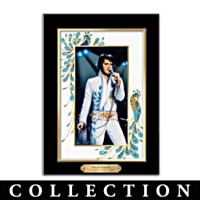 Elvis Presley's Portraits Of Style Wall Decor Collection