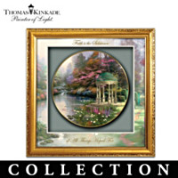 Gardens Of Tranquility Shadowbox Plate Collection