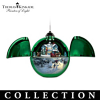 Thomas Kinkade Hidden Treasures Ornament Collection