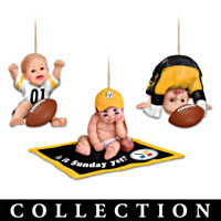 Born To Be A Steelers Fan Ornament Collection