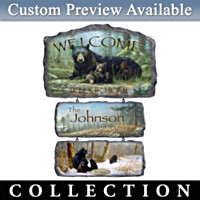 Seasonal Splendor Personalized Wall Decor Collection