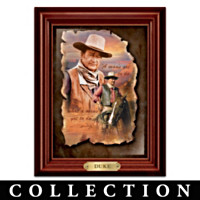 John Wayne: A Man Of His Word Wall Decor Collection