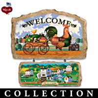 Charles Wysocki Hometown Welcome Wall Decor Collection
