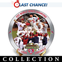 2011 World Series Champions Collector Plate Collection