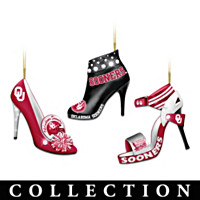 Oklahoma Sooners Stiletto Ornament Collection