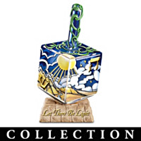 Seven Days Of Creation Dreidel Figurine Collection