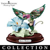 Thomas Kinkade Garden Wonders Sculpture Collection
