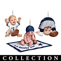 Born To Be A Cowboys Fan Ornament Collection