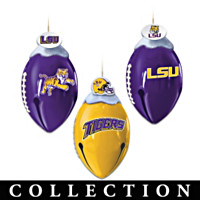 LSU FootBells Ornament Collection