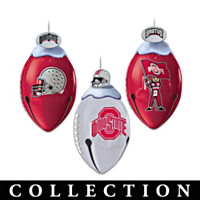 Ohio State FootBells Ornament Collection