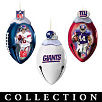 New York Giants FootBells Ornament Collection