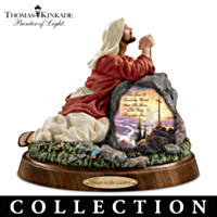Thomas Kinkade Prayers Of Our Lord Sculpture Collection