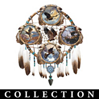 Sacred Skies Dreamcatcher Collector Plate Collection