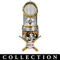 San Francisco Giants Championship Ornament Collection
