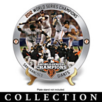 2012 San Francisco Giants Collector Plate Collection