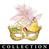 Disney Princess Masquerade Ball Ornament Collection