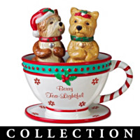 Dash Of Delight Yorkie Salt & Pepper Shaker Collection
