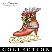 Thomas Kinkade Warm Holiday Memories Ornament Collection