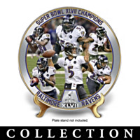 Baltimore Ravens Super Bowl Collector Plate Collection
