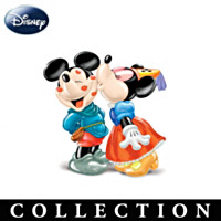 Disney Mickey and Minnie Salt And Pepper Shaker Collection