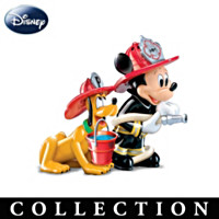 Disney Mickey's Fire Brigade Salt And Pepper Collection