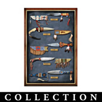 Native American-Inspired Sculpted Knife Collection
