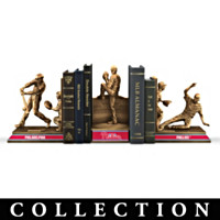 Philadelphia Phillies Moments Of Glory Bookends Collection