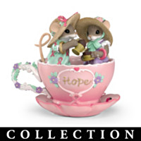 Charming Tails Teacups Of Hope Figurine Collection