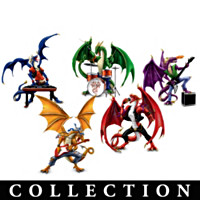 Fiery Youngbloods Figurine Collection