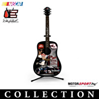 Dale Earnhardt 7-Time Champion Guitar Figurine Collection