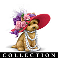 Paws-itively Playful Yorkie Figurine Collection