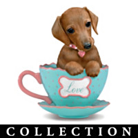 Dachshunds With Personali-tea Figurine Collection