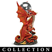 Gardens Of Power Dragon Orb Sculpture Collection