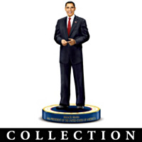 Obama Presidential Figurine Collection