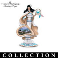 Thomas Kinkade Visions Of The West Figurine Collection