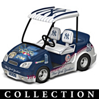 2009 World Series Champions Golf Cart Figurine Collection