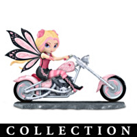 On The Wings Of Hope Fairy Riders Figurine Collection