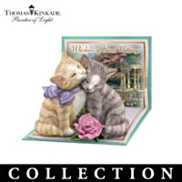 Thomas Kinkade Tails Of Romance Figurine Collection
