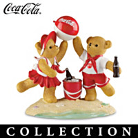 Seaside With Coca-Cola Figurine Collection