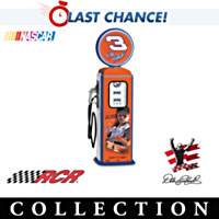 Dale Earnhardt #3 Gas Pump Figurine Collection