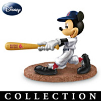 Mickey & Friends Red Sox All-Stars Figurine Collection